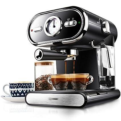 GCCI Máquina de Café Italiana Peque?a Máquina de Café Manual Semi-automática de