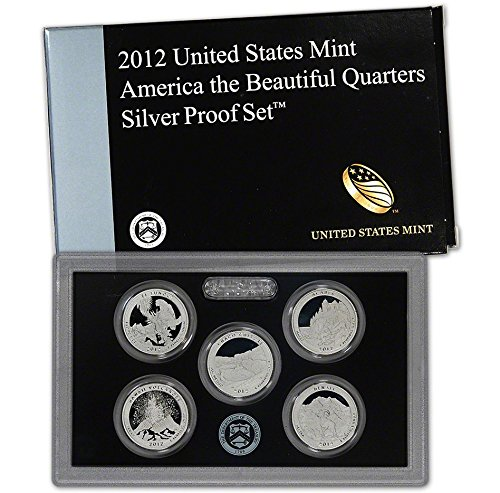 Silver Quarters - 2012 S US Mint Quarters Silver Proof Set