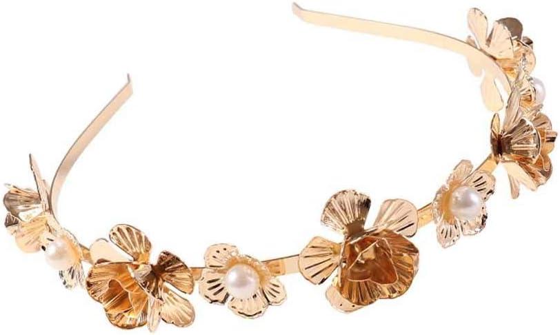 Women Girl Pearl Diamond Crystal Flower Hair Pin Clip Barrette Grip Wedding prom