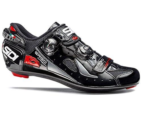 方法論セールスマン一般化するSIDI(シディ) Ergo(エルゴ) 4 Road Cycling Shoes - Black/Black [並行輸入品]