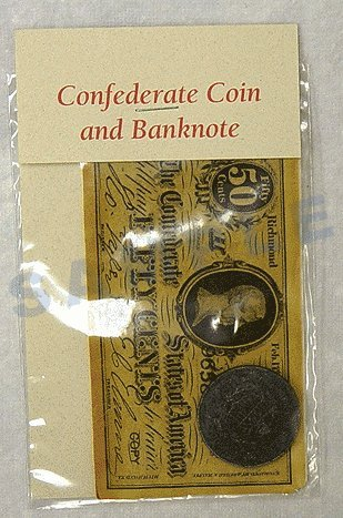 Confederate Coin and Banknote Set
