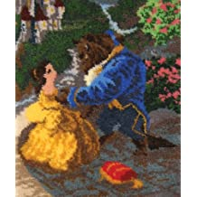 MCG Textiles Beauty and The Beast Latch Hook Rug Kit, 21 by 26-Inch