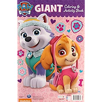 paw patrol giant coloring and activity book 11