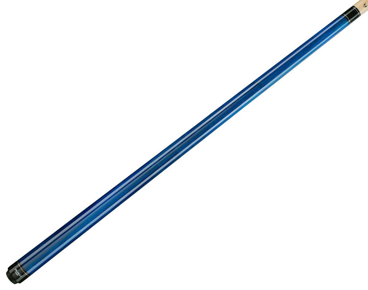 Viking Valhalla 2 Piece Pool Cue Stick VA103 (18oz, Blue)