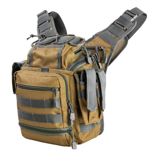 NcSTAR VISM CVFRB2918TU First Responders Utility Bag, Tan with Urban -
