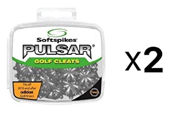 Softspikes Pulsar PINS Golf Cleat Kit - Performance Insert System (2-Pack) cc5c72bcd