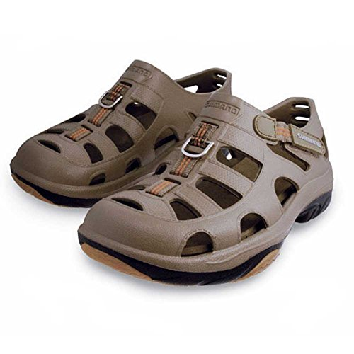 Shimano Evair Boat Shoes Khaki/black Size 12