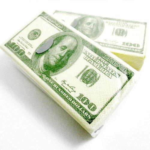 Dollar Facial Tissue Napkins Benjamins
