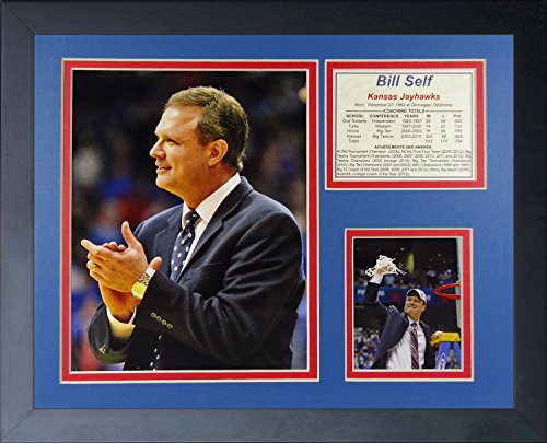 Legends Never Die Bill Self Kansas Jayhawks Collage Photo Frame, 11