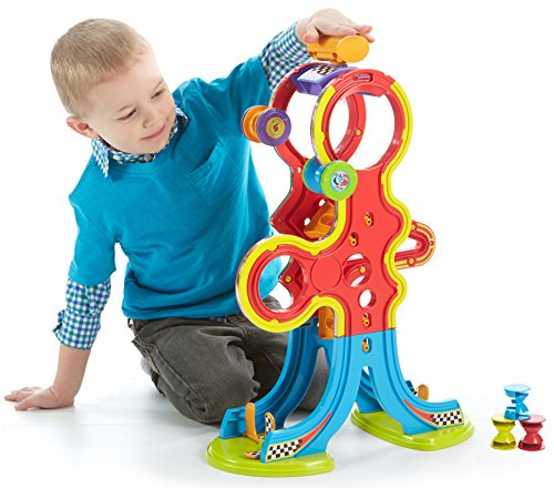 Fisher-Price Spinnyos Racin' Chasin' Super Slide (Christmas Yo Yos)