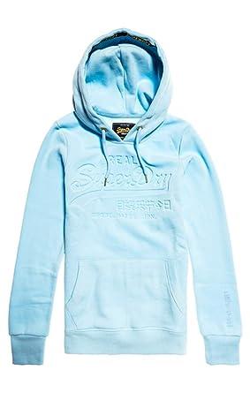 prix de détail section spéciale haute qualité Superdry V Logo Pastel Deboss Entry Hoo Sweat à Capuche ...