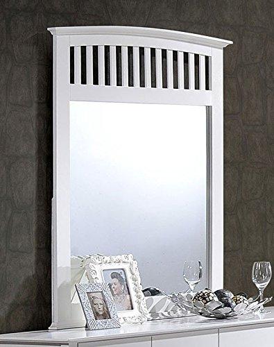 Prentice 5pc Bedroom Set B672 In White By Ashley Furniture: White Dresser & Mirror Sets