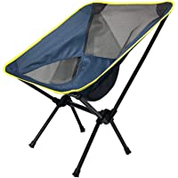TSSM Tragbarer faltender Strand-Stuhl, kampierender Stuhl-ultraleichter Breathable Freizeit-Ausrüstung im Freien für kampierenden Fischen-Grill