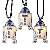 Kurt S. Adler 10-Light Star Wars R2D2 Light Set