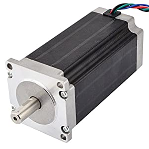 Low Current Nema 23 CNC Stepper Motor 1.8A 340oz.in/2.4Nm CNC Mill Lathe Router from OSM Technology Co.,Ltd.