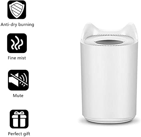 Sweden Home Air Humidifier 3000ML Double Nozzle Cool Mist