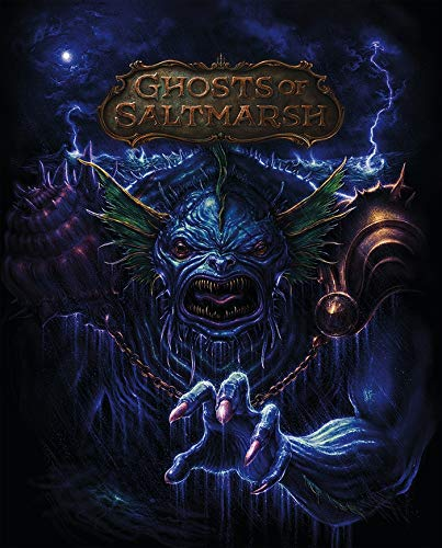 Dungeons and Dragons RPG: Ghosts of Saltmarsh Alternate Cover