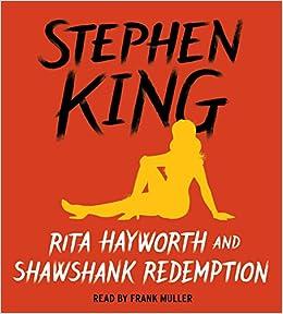 author of the shawshank redemption