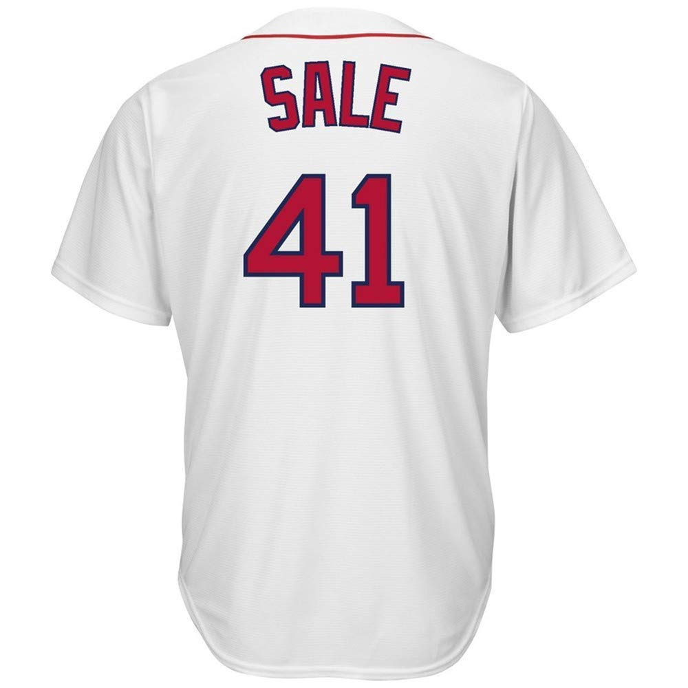 CAREFORM Mens//Womens//Youth/_Chris/_Sale/_#41/_Fans/_Jersey/_White/_Alternate/_Cool/_Base/_Player/_Jersey
