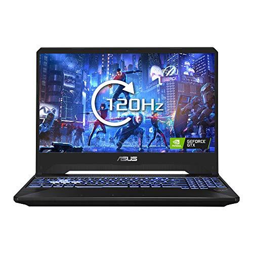 ASUS TUF FX505 15.6 Inch Full HD 120 Hz Gaming Laptop (Black) (AMD Ryzen R5-3550H, Nvidia GeForce GTX 1650 4 GB, 256 GB PCI-e SSD, 8 GB RAM, Windows 10)