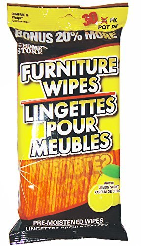 Home Store Furniture Wipes (30 ct) - compare to - Compare Stores