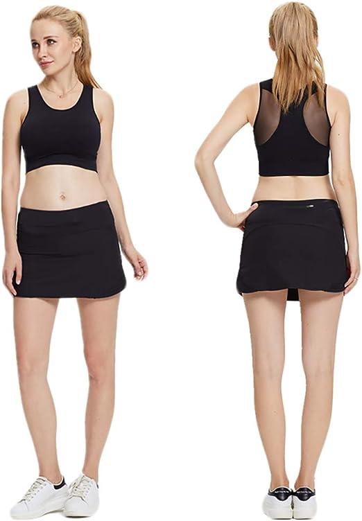 Crazy lin Falda Interior de Pantalones Cortos para Mujer Cintura ...