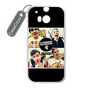 CASECOCO(TM) 5 Seconds of Summer 5 SOS Custom Case Cover Skin Shield for HTC One M8 Case Laser Technology by mcsharks