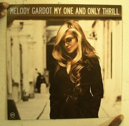 Melody Gardot My One & Only Thrill 2 Sided Poster
