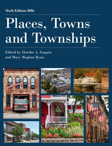 Places, Towns and Townships 2016 (County and City Extra Series)