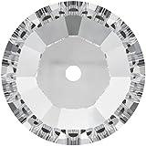 4mm Crystal Sew on Swarovski Stone Qty 100 by Swarovski Elements