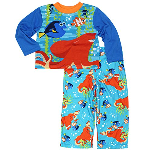 Finding 2 (Disney Boys' 4-10 2-Piece Finding Dory Pajama Set 4)