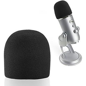 sunmon microphone foam windscreen cover perfect mic pop filter mask shield for blue. Black Bedroom Furniture Sets. Home Design Ideas