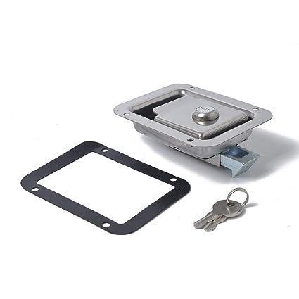 Lorenlli Caja de Herramientas portátil Paddle Latch Caja de ...