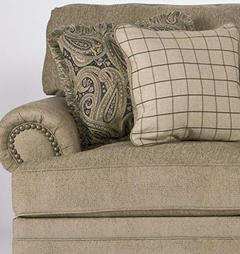 Keereel Traditional Sand Color Fiber Sofa Best Sofas Online Usa