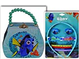 Adorable Best Selling FINDING DORY 10 Piece High Quality Beauty Bundle- 2 Items: 9 Piece Hair Accessory Set & Beautiful Purse Shaped Tin Box With Beaded Handle & Clasp offers