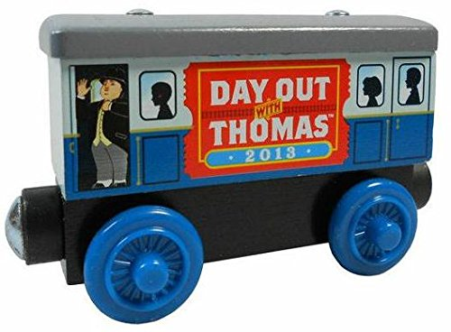 Thomas & Friends Wooden Railway Train - 2013 Day Out with Thomas Caboose Car- Loose Brand New (Thomas The Train Wooden Murdoch)