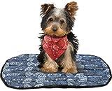 Doggie Cooling Mat, Cowboy Blue, Medium, My Pet Supplies