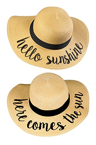H-2017-2-HS.HCTS Sun Hat Bundle - Hello Sunshine, Here Comes The Sun by Funky Junque