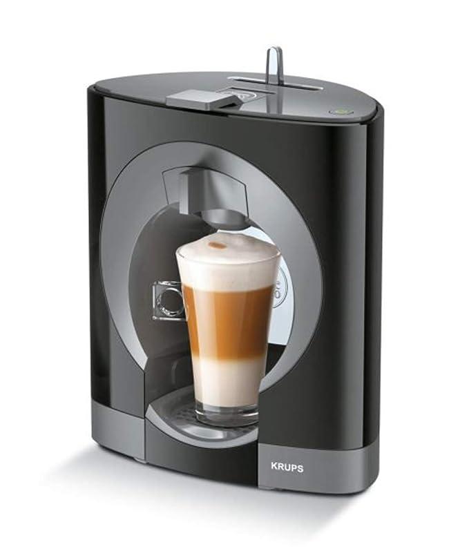 Máquina de café manual NESCAFE Dolce Gusto Oblo de alta calidad, color negro: Amazon.es: Hogar