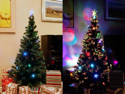 Prelit LED Christmas Tree • Comfy Christmas