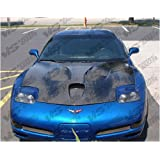 Amazon com: VIS 97-04 Corvette Carbon Fiber Hood COWL