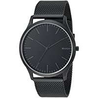 Skagen Men's 'Jorn' Quartz Stainless Steel Casual Watch, Color:Black (Model: SKW6422)
