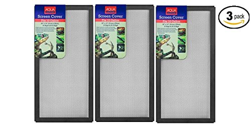 Aqua Culture Aquarium Hood Screen Cover for 10-Gallon Aqua Culture Aquarium - Pack of 3 by Aquaculture