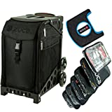 ZUCA Sport Stealth Insert Bag with Pro Packing Pouches and Gift Seat Cushion