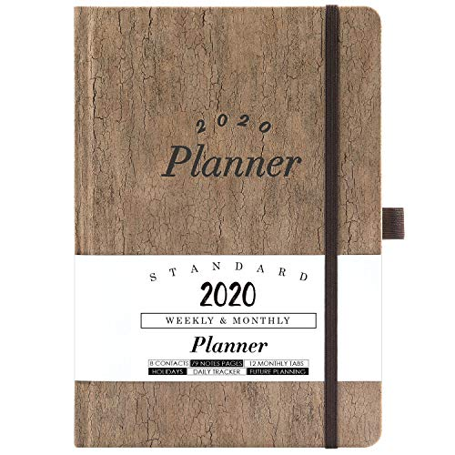 2020 Planner - Weekly & Monthly Planner with Tabs