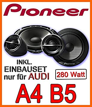 Audi A4 B5 Avant Lautsprecher Pioneer Ts G173ci 16cm Einbauset