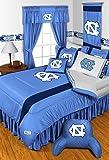 3pc NCAA North Carolina Tar Heels Full-Queen Comforter and Pillowcase Set