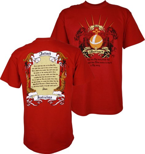 Monty Python and the Holy Grail Holy Hand Grenade Instructions Men's T-Shirt, XXX-Large