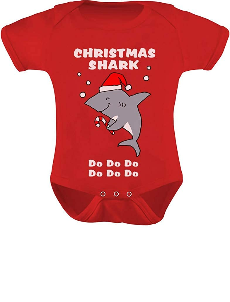Tstars - Christmas Baby Shark Doo Doo Doo Family Holiday Song Baby Bodysuit GaMPMtZgj