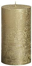 Bolsius Gran Estilo metálico Stumpenkerze 130 x 68 mm Oro